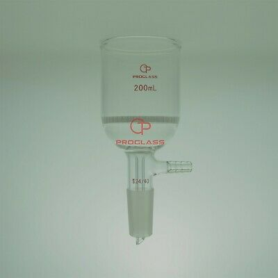 Proglass Filtering Buchner Funnel 200mL with 24/40 Joint with Pore Plate