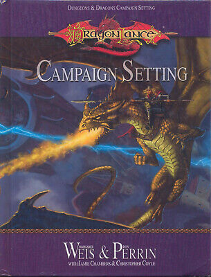 (D&D) Dungeons & Dragons - Dragonlance CAMPAIGN SETTING