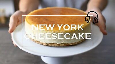 best New York Cheesecake video recipe auction free shipping  no reserve US 29