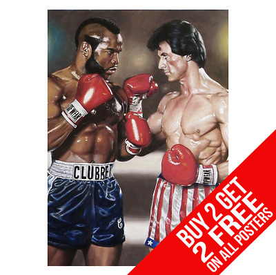 Rocky Balboa 3 Clubber Lang Poster A4 A3 Size Print - Buy 2 Get Any 2 Free