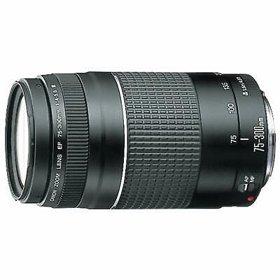 Canon 6473A003 EF 75-300mm f/4-5.6 III Telephoto Zoom Lens for Canon SLR Cameras