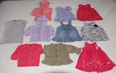 4e55829bbb1e1 LOT 10 VETEMENTS Bebe Fille Ete 3 Mois - EUR 12