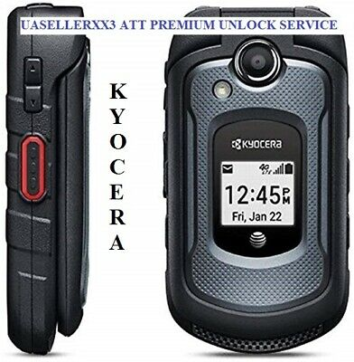 At&T Fast Unlock Code Service Kyocera E4710 Other Models Clean Imei