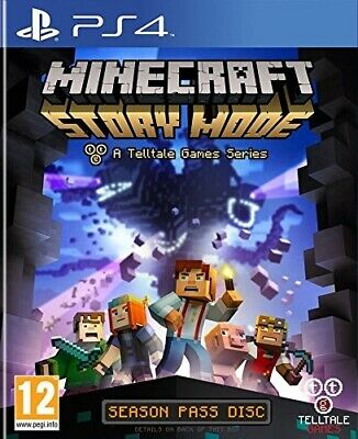 Juego Ps4 Minecraft: Story Mode Ps4 4422253