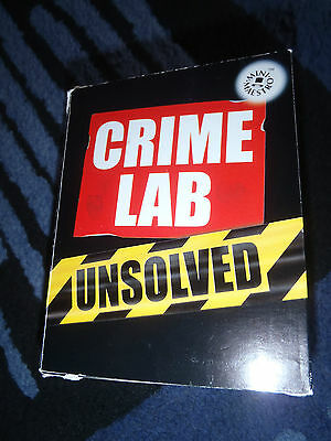 Crime Lab Unsolved by Top That! Publishing Ltd (Paperback, 2004)