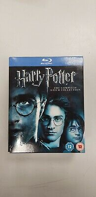 Harry Potter The Complete 8-Film Collection Blu-ray Box Set