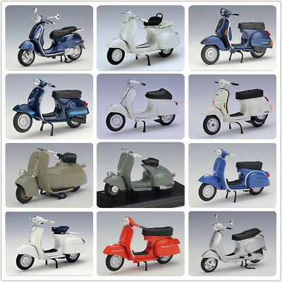PIAGGIO Vespa Scooter Model Bikes Diecast Toy Motorcycle Scale 1:18 by Maisto