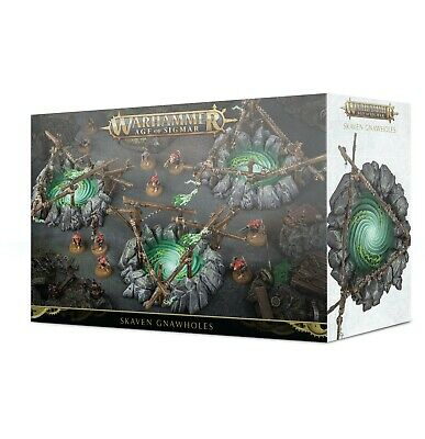 Warhammer Age of Sigmar: Skaven Gnaw Holes PREORDER
