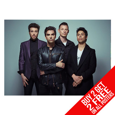 Stereophonics Poster A3 A4 Size Bb0 Print - Buy 2 Get Any 2 Free