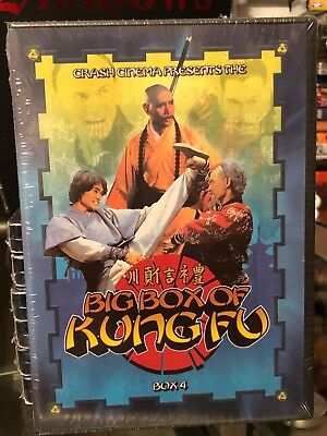 Big Box Of Kung Fu - Young Tiger, The Magnificent, Kung Fu The Invisible Fist...