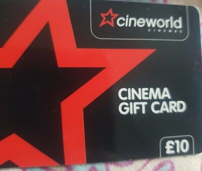 Cineworld Cinema Gift Card £153.09