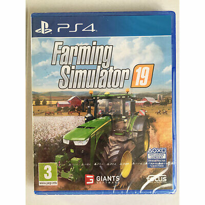 Farming Simulator 19 (PS4) New and Sealed