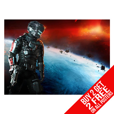 Dead Space 3 Game Xbox Ps3 Poster Art Print A4 A3 - Buy 2 Get Any 2 Free
