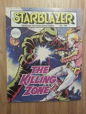 Starblazer Issue No 189 - The Killing Zone