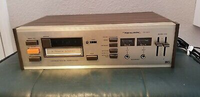 Realistic TR-801 8 Track Stereo Tape Vintage Working!!!