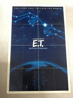 Et The Extra Terrestrial Original 1982 Poster From The Usa.