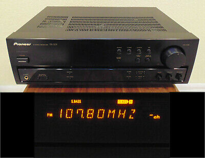 Tested, Works Great! Pioneer SX-205 Receiver Amplifier CD DVD Phono Super Bass