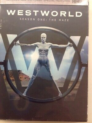 NEW! Westworld: The Complete First Season (DVD, 2017) One The Maze 1st 1