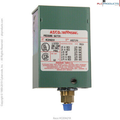 Asco HC20A218 Pressure Switch - New (old stock)