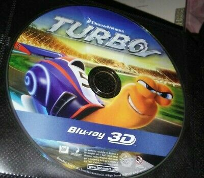Turbo  3D Blu-ray disc only