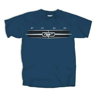 Ford Mustang T-Shirt w/ Pony Grill Logo / Emblem (Licensed)