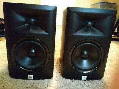 JBL LSR305 powered monitors (2) speakers Great Condition