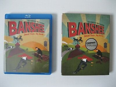 Banshee: The Complete First Season - Cinemax (Blu-ray 4 Disc Set, 2013) Like NEW