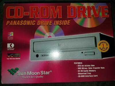CD-ROM Internal 2X Drive CR-562-J Panasonic w/SMS-31083 Ver.1 Card