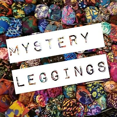 *NEW* LuLaRoe Mystery Leggings *SALE* OS One Size 10 MYSTERY RETAIL 250$ FOR 49$