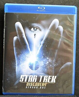 Star Trek: Discovery - Season One (Blu-ray Disc, 2018) Watched Once