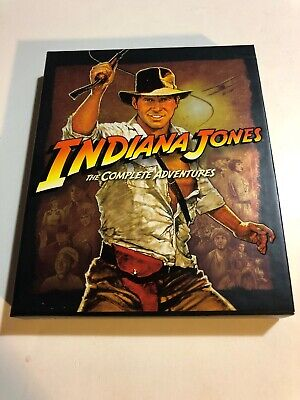 Indiana Jones - The Complete Adventure Collection (Blu-ray Disc, 2012, 5-Disc...