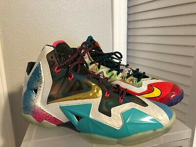 f8fa9eef1d769 NIKE LEBRON X 10 MVP Perfect Condition Multicolor Size 6.5 -  120.00 ...