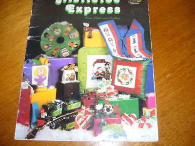 Mistletoe Express Cross Stitch & Quilting For Christmas