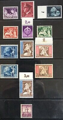 Germany Third Reich 1942 issues MLH