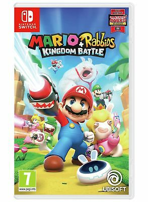 Mario and Rabbids Kingdom Battle Nintendo Switch Game 12+ Years