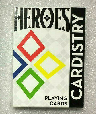 Limited Edition CARDISTRY HEROES Playing Cards