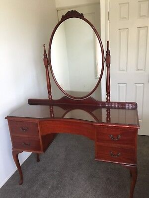 Dressing Table Queen Anne /french Provincial Style Rare Vintage/ Antique Classic