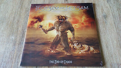 Flotsam And Jetsam ‎– The End Of Chaos / Clear Orange vinyl