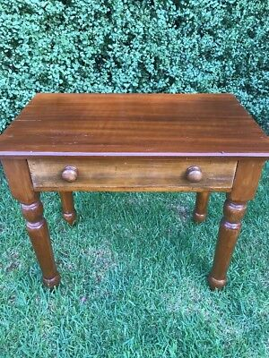 Antique small child's/student school desk, hall table with draw. MUST SEE