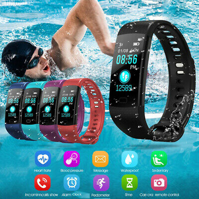 anmelder pulsmesser y5 smart watch armband fitness - armband sports tracker