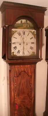 "Antique Quality Mahogany "" Berwick ""  8 Day  Longcase / Grandfather Clock"
