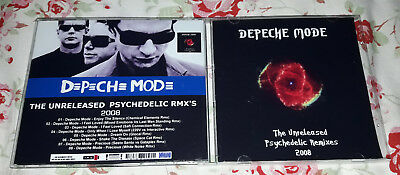 Depeche Mode - The Unreleased Psychedelic Remixes CD SPECIAL FAN EDITION