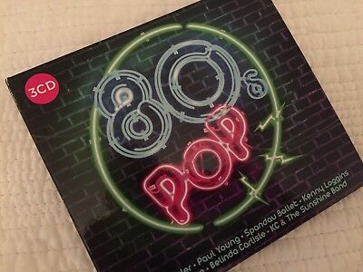 80s Pop Brand New 3 CD Compilation