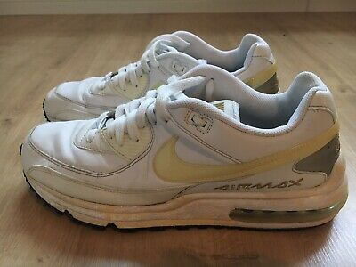 check out 9fa3d ed2d3 nike air max command leather Herrensneaker weiß 45