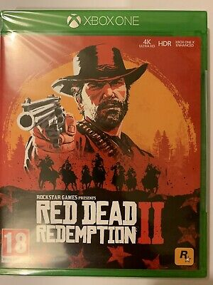 Red Dead Redemption 2 Xbox One -new &sealed Free Delivery 🚚!!!!!!!!!!