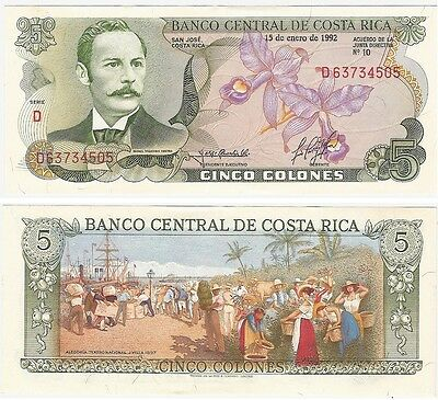 Costa Rica 2000 Colones P 275 New Date 2015 Unc Low Shipping Combine Free Traveling 2017
