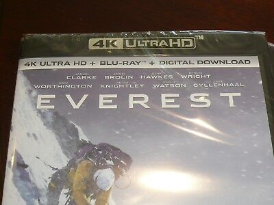 Everest 4K Ultra HD Blu-ray Free Delivery New and sealed in cellophane wrapper