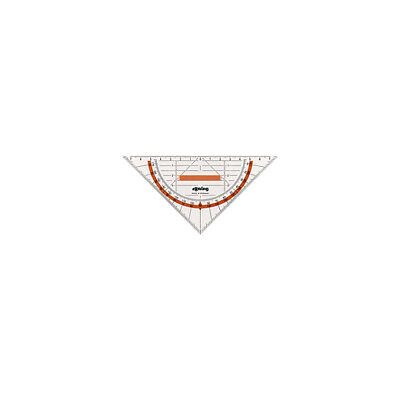 Rotring S0903940  ruler Transparent 1 pc(s) Triangle Ruler