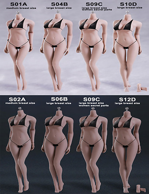 Phicen TBLeague 1/6 Steel Skeleton Female Seamless Body-USA EXPEDITED SHIPPING