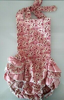 NEW APPLEBERRY LANE baby girl cotton floral print romper Size S